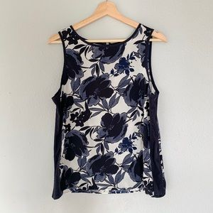 Banana Republic | Floral tank